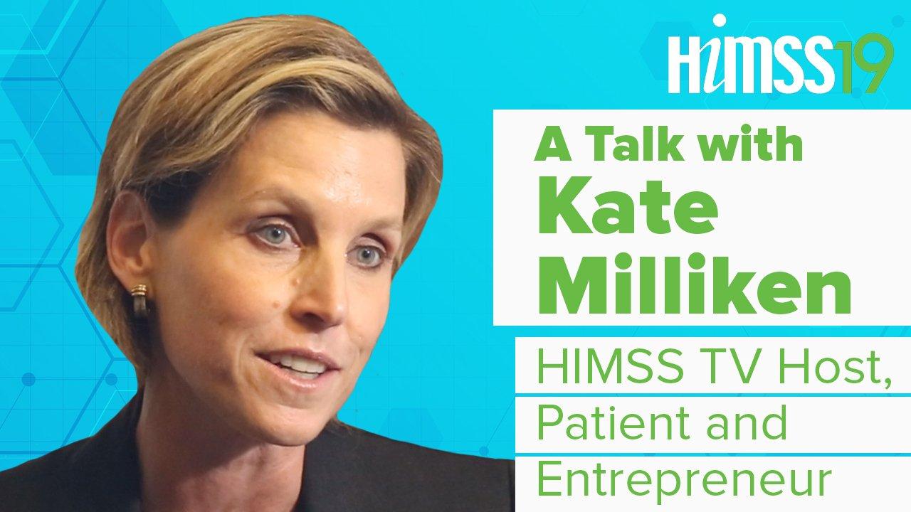 Treffen Kate Milliken: HIMSS TV-Moderatorin HIMSS19