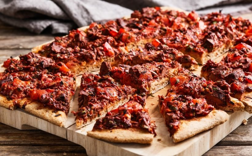 Lahmacun – Türkische Pizza vegan