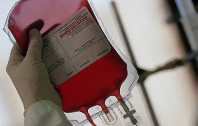 Rot-Kreuz-Themen-Notruf für Blutspenden