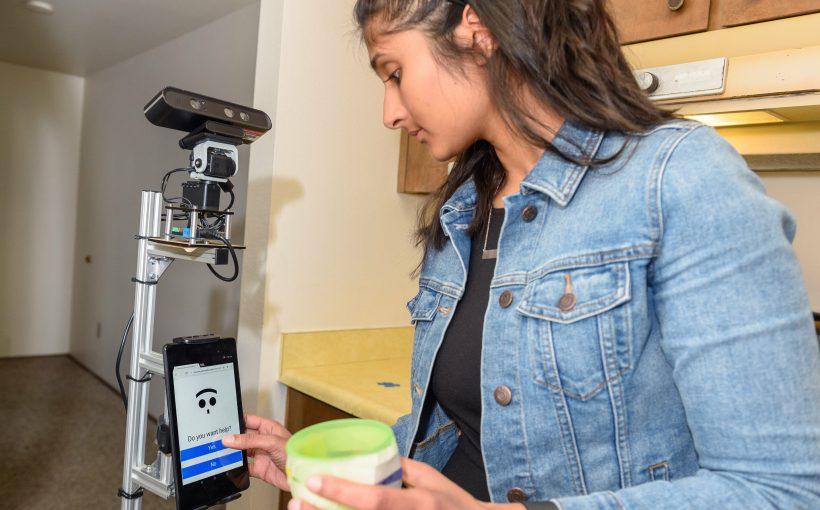 WSU smart-home-tests, die ersten Pflege-Roboter