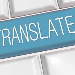 Google übersetzt Arztes in Spanisch und Chinesisch, mit einigen erheblichen Fehlern