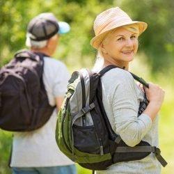 Bergabgehen nach dem Essen fördert die Knochengesundheit