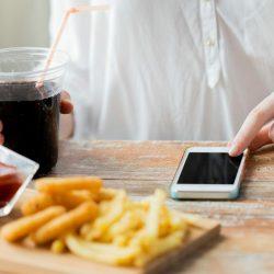 Digitale Geräte überlast-verknüpft, um das Risiko der Fettleibigkeit