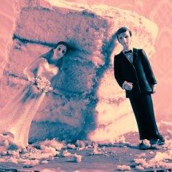 Hochzeits-Fotografen Zeigen Den Roten Fahnen, Die eine Ehe wird Nicht Zuletzt