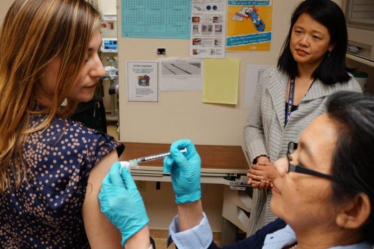 NIH beginnt erst-in-menschliche Studie eines universellen influenza-Impfstoff-Kandidat