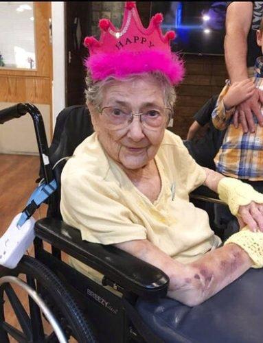 Die Frau lebte bis 99 mit die meisten Organe auf der falschen Seite des Körpers