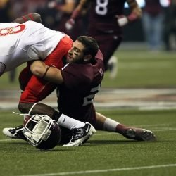 Was macht Sportler berichten oder ausblenden Gehirnerschütterung Symptome?