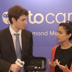 TytoCare Gerät ermöglicht den remote-Patienten zu senden lebenswichtigen Organen zu Anbieter