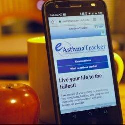 Kinder, die asthma-tracking-app haben Sie die bessere Kontrolle von Krankheiten und weniger Krankenhausbesuche