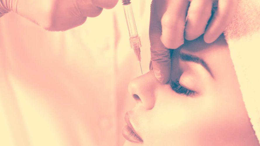 Diese Damen nicht-Chirurgischen Nasenkorrektur Ging So Schief, Abgeschnitten Blutfluss zu Ihrem Auge