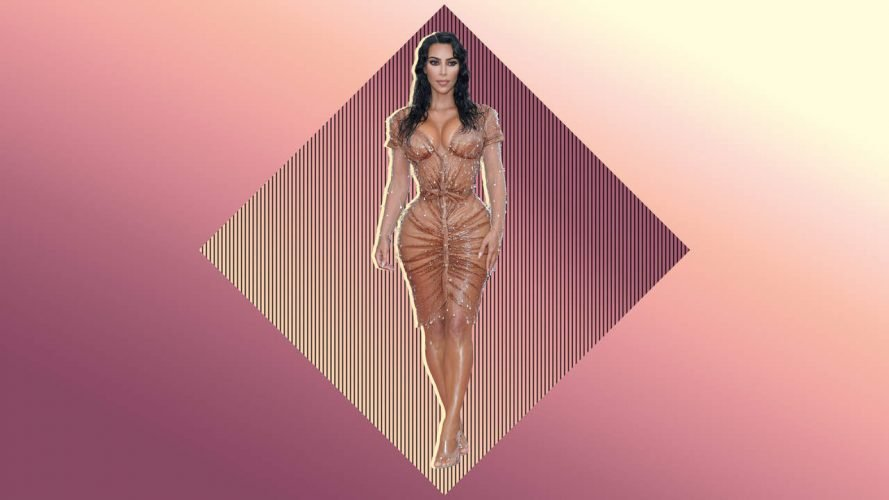 Kim Kardashians Kleine Taille, an der Met Gala Löste Großen Spielraum