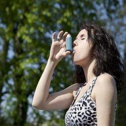 Der Sommer ist hart für asthma-kranke