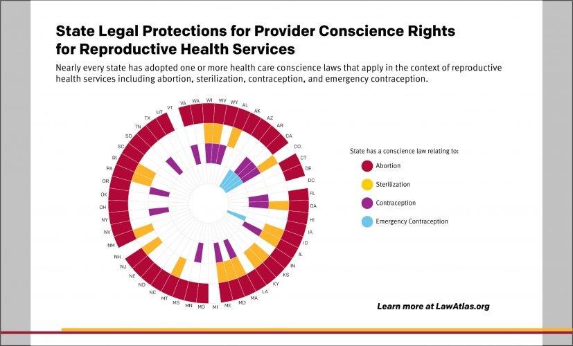 Studie wird untersucht, inwieweit der Staat rechtlichen Schutz für Anbieter gewissen Rechte für die reproduktive Gesundheit Dienstleistungen