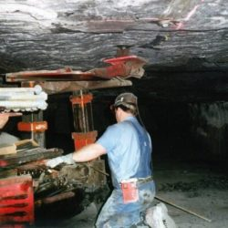 Was ist die treibende spike in schwarz Lungenerkrankung unter den Bergbau?
