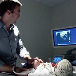Ultraschall app erlauben würde, die Analyse der medizinischen Bilder von überall