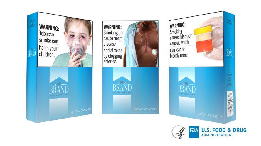 FDA schlägt vor, grafische Warnhinweise auf Zigaretten