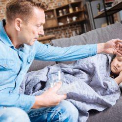 Fiebermittel für Kinder richtig dosieren