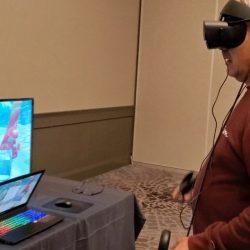 VR-Spiel gibt dem Benutzer 'Augen-auf' Erfahrung mit Verlust der Sehkraft