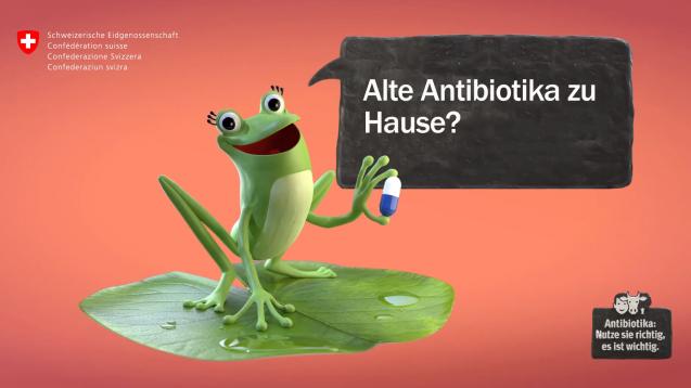 Schweizer sollen ungenutzte Antibiotika zurückbringen