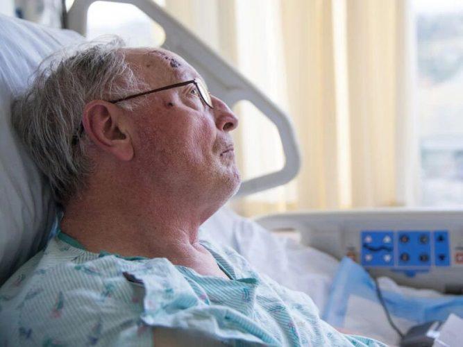 2003 bis 2017 sah Anstieg der Todesfälle zu Hause, Hospiz-Einrichtung