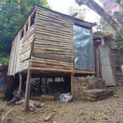 Frauen in Nepal noch immer gezwungen draußen schlafen, in 'menstruation Hütten'