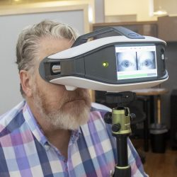 Tragbares Gerät zur überwachung der blink-reflex gelöscht von der Food and Drug Administration