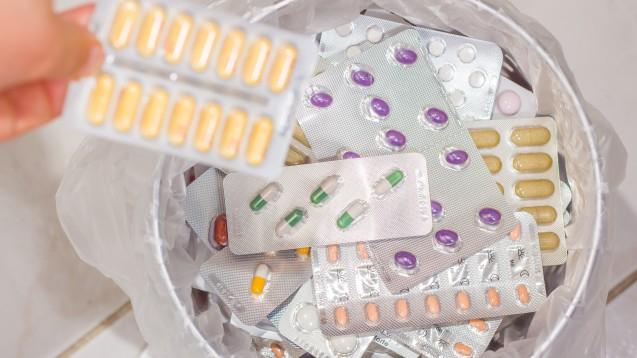 Alte Arzneimittel sind jetzt auch in Bochum ein Fall für die Tonne