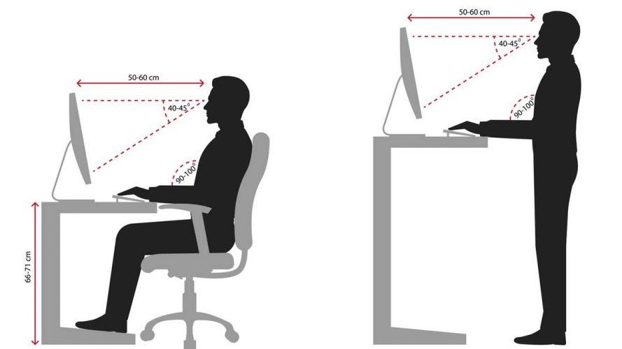 Ergonomie am Arbeitsplatz: So beugen Sie körperlichen Beschwerden vor