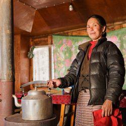 Traditionelle Biomasse-Herde gezeigt, verursachen Lungen-Entzündung