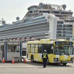 Zwei ehemalige Japan Kreuzfahrt Schiff Passagiere sterben