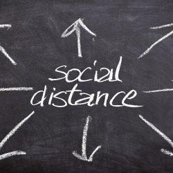 """- Gefühl 'verpflichtet' sich auswirken können Beziehungen während des """" social distancing"""
