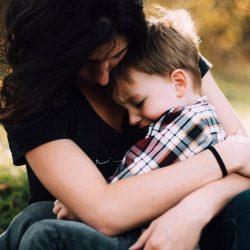 Ein Kind im häuslichen Umfeld kann einen Einfluss auf das Risiko der Entwicklung von Depressionen