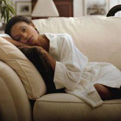 Isolation während der Corona-Virus-Pandemie-Auslöser einer depression