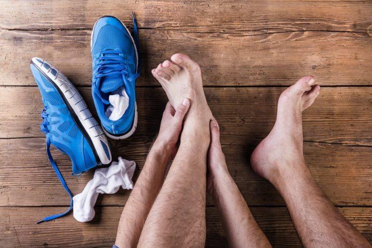 Wiederherstellen aus einer übung der Verletzung – nach einem Sport-Physiotherapeuten