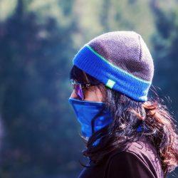 Beweise zeigen, Tuch-Masken helfen gegen COVID-19