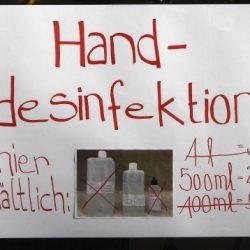 Händedesinfektionsmittel – welche Rezepturen das RKI für die Eigenherstellung empfiehlt