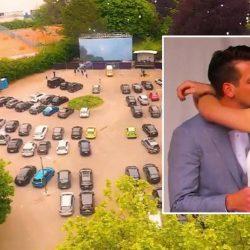 Autokino statt Kirche: Die etwas andere Hochzeit in Zeiten von Corona