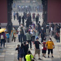 Die verbotene Stadt, die parks in der chinesischen Hauptstadt erneut öffnen, um die öffentliche