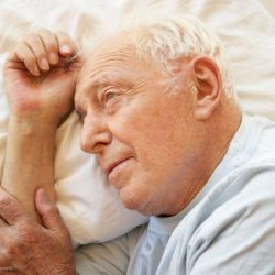 Schlaflosigkeit kann Prognose Depressionen, denken, Probleme bei älteren Menschen