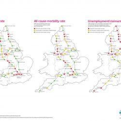 Northern England härter getroffen von COVID-19 und Effekte wird länger dauern