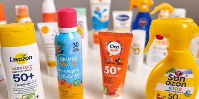 Sonnenschutz für Kinder: Diese Mittel schneiden gut ab