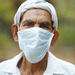 Anrufe wachsen Iraner tragen Masken, um zu stoppen virus