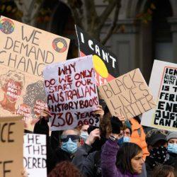 """""""Schlimmste Befürchtungen werden wahr"""": Corona-Fall nach Anti-Rassismus-Demo in Australien"""