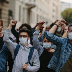 """Experten warnen vor """"sound cannon"""" hearing loss bei protest-Märsche"""