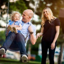 Vater-friendly workplaces machen feinere Familien