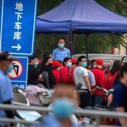 Wegen neuer Corona-Fälle: Behörden riegeln in Peking elf Wohngebiete ab