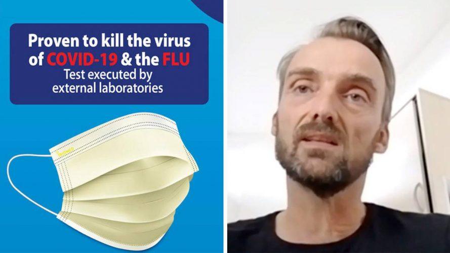 """Kann diese neue """"Super-Maske"""" wirklich Coronaviren töten?"""
