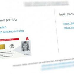 FAQ zum Elektronischen Heilberufsausweis (eHBA)